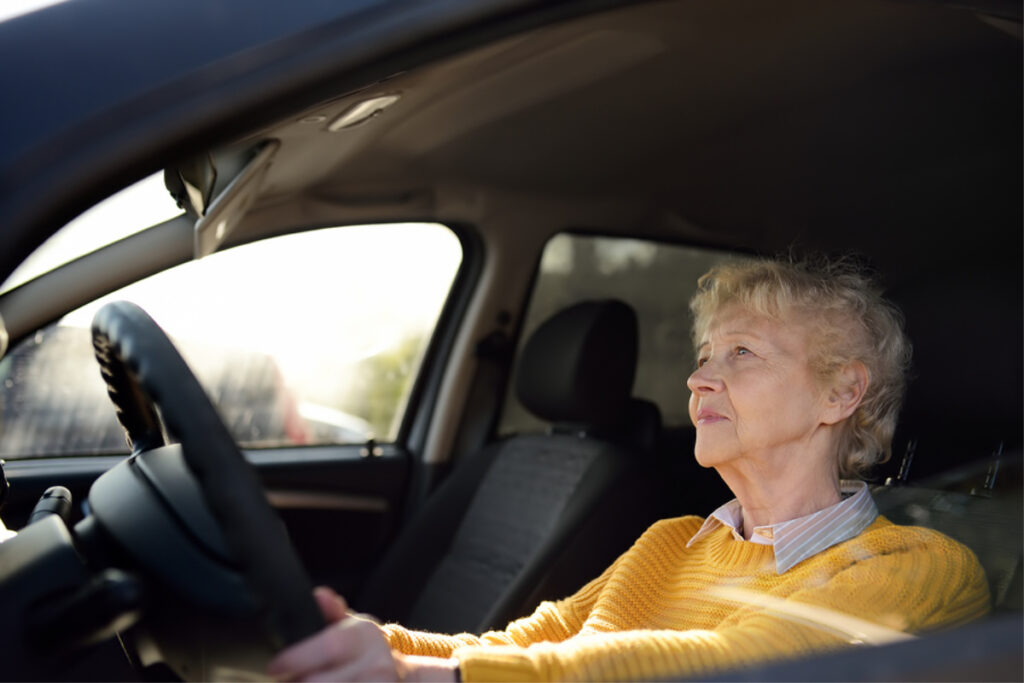 Home Health Care in Piedmont CA: Senior Driving